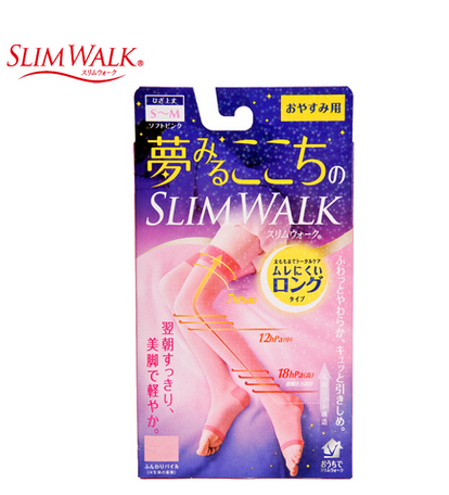 SLIMWALK Compression (Pink, above knee, M/L)