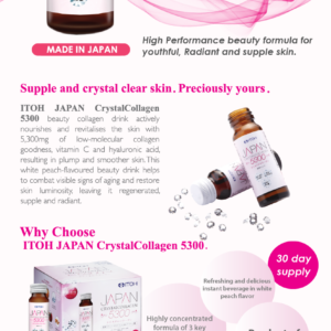 Japan Crystalcollagen 5300's 3's